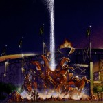 Concept for iconic sculpture for Calgary Stampede
